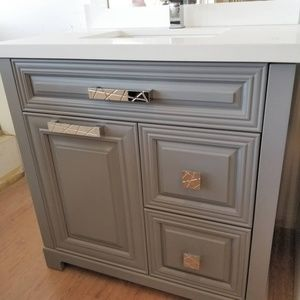 Other - Solid Wood Painted Single Sink Vanity